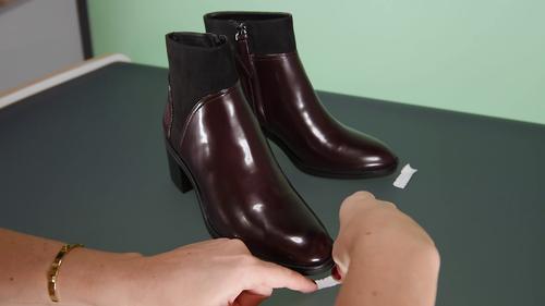 foto scarpa posizionamento