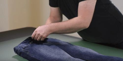 fotografare jeans ecommerce riempimento