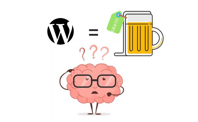 wordpress gratis cosa significa