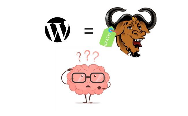 wordpress ha licenza Gnu