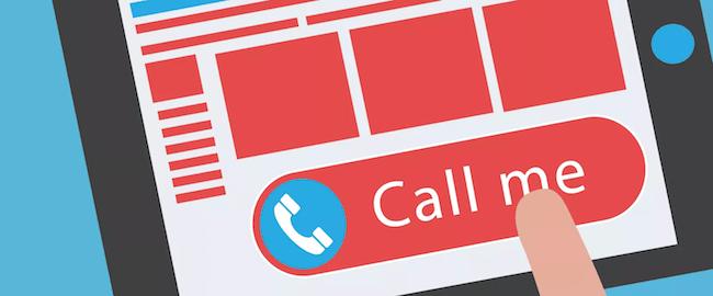 call only annuncio chiamata