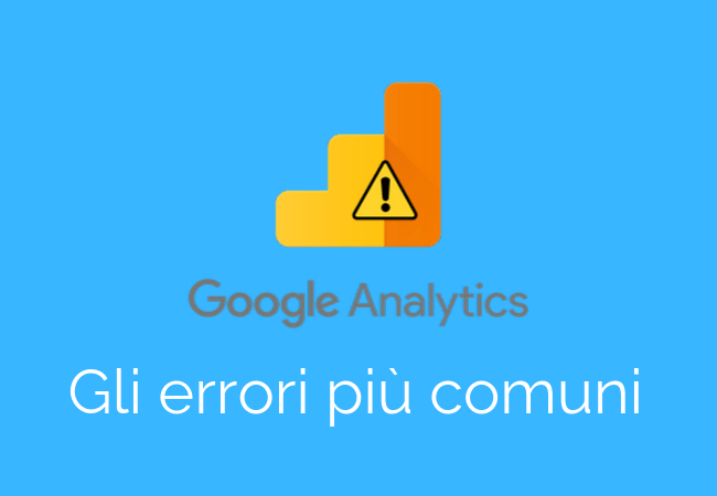 Errori Google Analytics