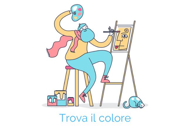 trovare colore logo