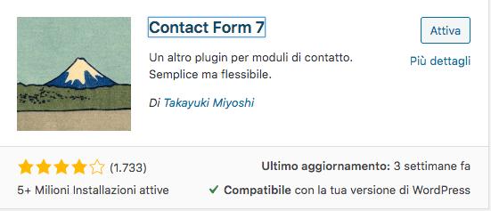 scarica plugin contact form7
