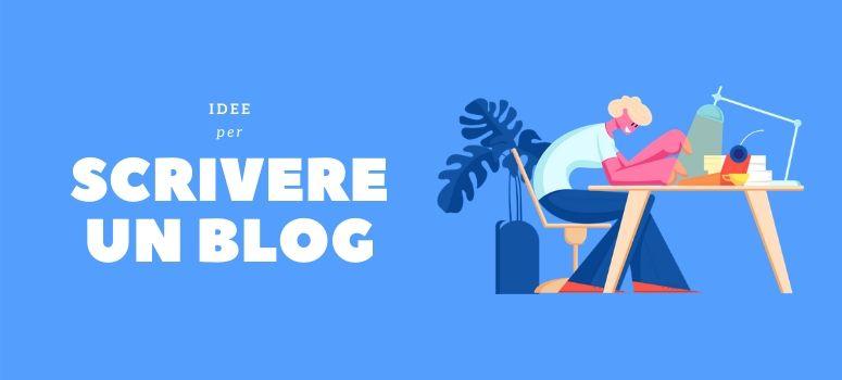 idee per scrivere blog