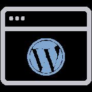 Icona Wordpress siti web