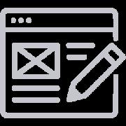 icona spazio illimitato sito web