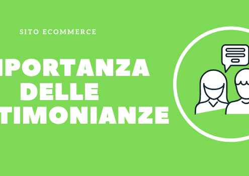 importanza testimonianze ecommerce