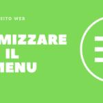 Ottimizzare il menu del sito web per i tuoi utenti e per la SEO