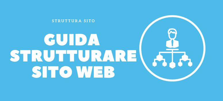 guida strutturare sito web