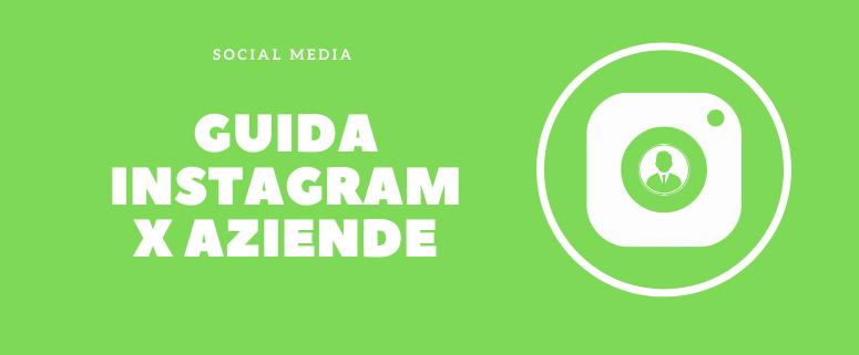 guida instagram aziende
