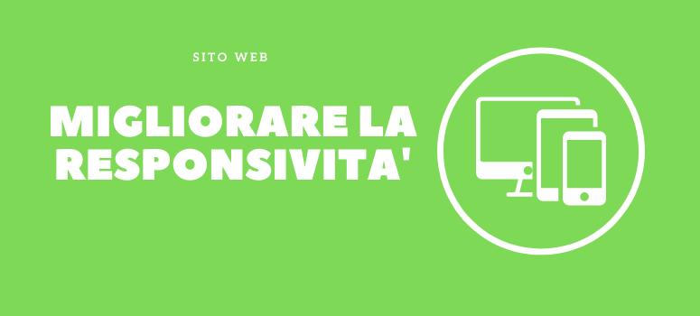 siti web mobile migliorare la responsività