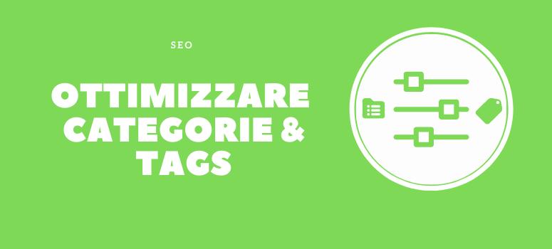 ottimizzare categorie tags