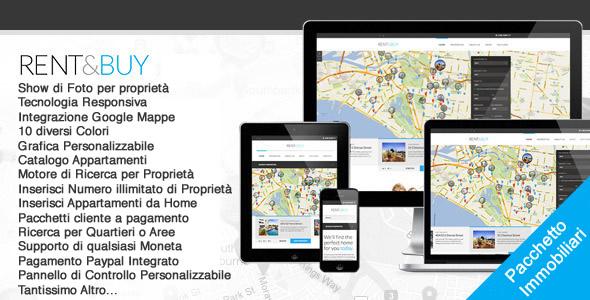 Sito Web Agenzia Immobiliare WordPress